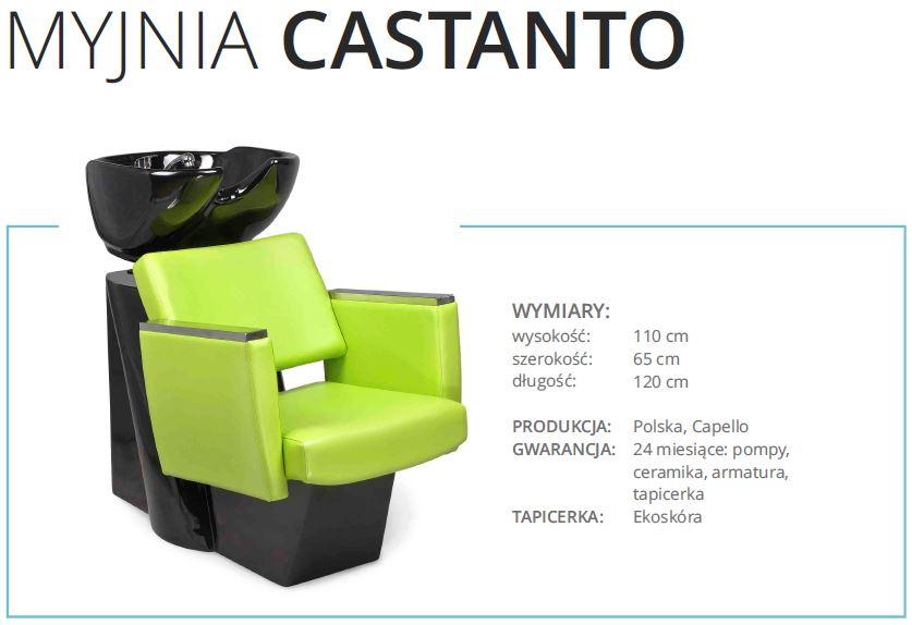 castanto - myjnia fryzjerska