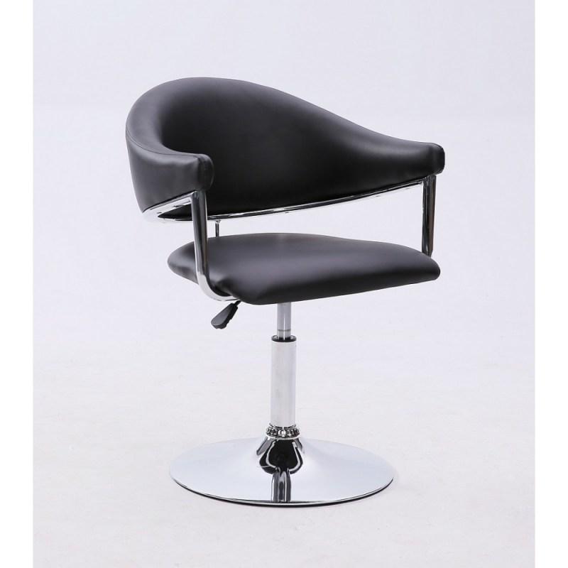 carole fotel fryzjerski czarny
